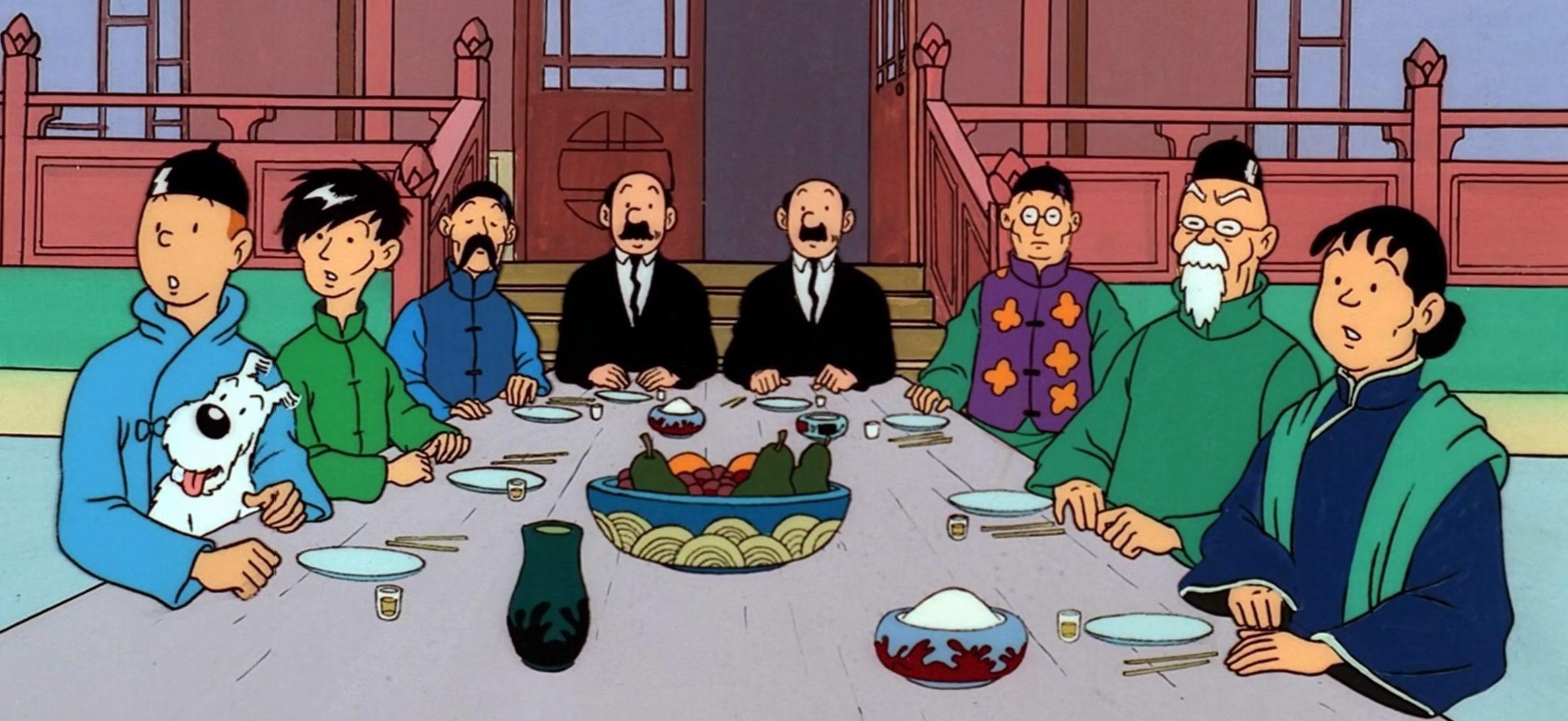 Tintin et sa pleb